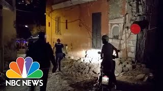 Earthquake Rattles Italian Island | NBC News