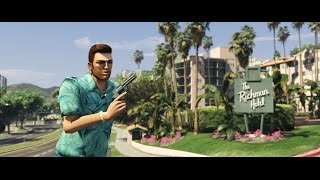 Tommy Vercetti Trailer [GTA5 Mod]