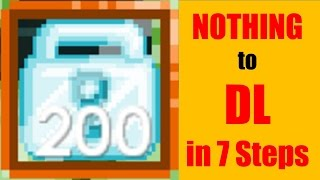 Growtopia #70 From Nothing to DL in 7 Steps