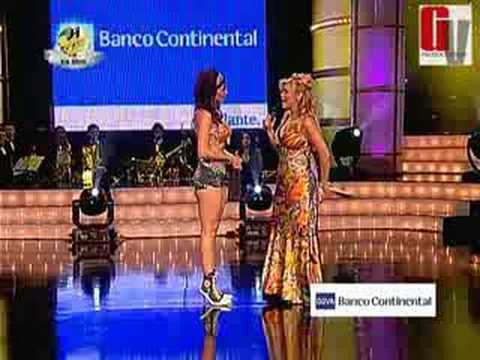 El Desafío Lucecita Bailando por un Sueño PERU 19 07 08