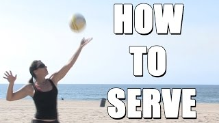 Basic Beach Volleyball Serves with Holly McPeak