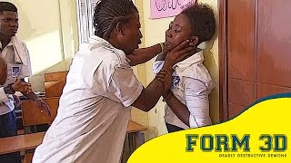 Baddest High School Class In Ghana | FORM 3D