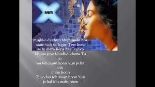 Tu Jo Hai Lyrics Toh Main Hoon – Ankit Tiwari – Mr  X   Emraan Hashmi