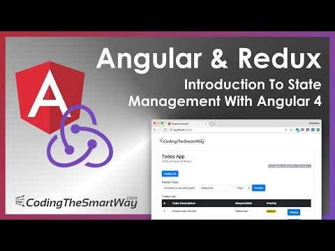 Angular and Redux - Introduction To State Management With Angular 4