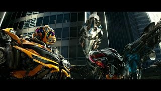 Transformers 4  Age of Extinction - Bumblebee vs Stinger HD