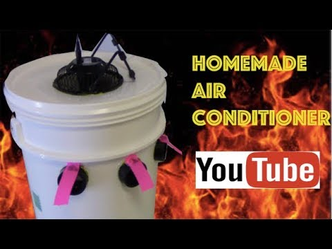HOW TO BUILD A HOME MADE AIR CONDITIONER SAVE MONEY