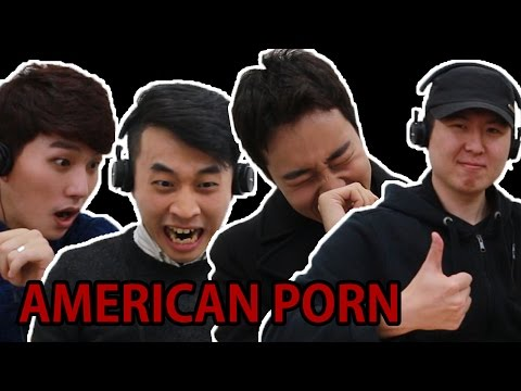 KOREAN GUYS WATCH AMERICAN PORN FOR THE FIRST TIME