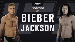 UFC 2: Celebrity Deathmatch: Justin Bieber vs Michael Jackson 'Battle for King of Pop'