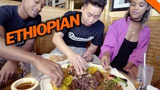 ETHIOPIAN FOOD & CULTURE (You never had this before!) // Fung Bros Food