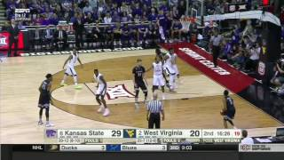 West Virginia vs Kansas State | 2016-17 Big 12 Men