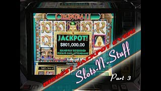 Second Biggest Cleopatra 2 jackpot on youtube!