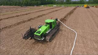 Purdue LICA Tile Plows and Trencher in Action