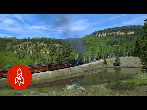All Aboard One of the Last Authentic Steam Railroads