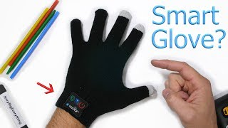 This Smart Glove turns your fingers into a cell phone!?