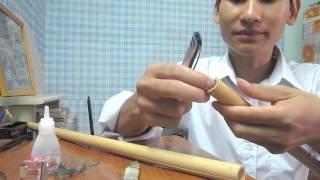 Dán keo cho sáo vỡ (Cao Trí Minh)