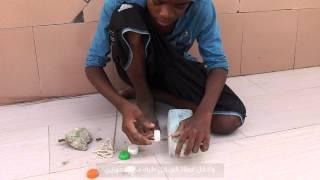 كيفية صنع سيارة من بقايا بلاستيكية