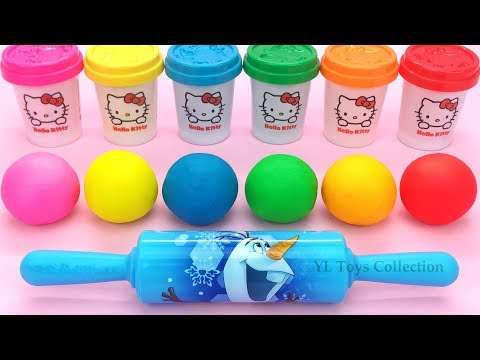 Xxx Mp4 Learn Colors Hello Kitty Dough With Ocean Tools And Cookie Molds Surprise Toys Kinder Eggs 3gp Sex