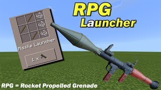 HOW TO MAKE AN RPG LAUNCHER | Minecraft PE