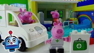 Peppa Pig Hospital de Peppa Hospital Construction Set - Juguetes de Peppa Pig