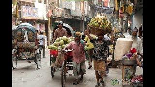 Shakhari bazar - Dhaka 400 Years History - Truism Old Dhaka - Heritage in Bangladesh -2017