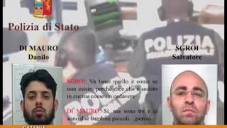 Rapine violente in gioiellerie, case e ville: sette arresti e tre domiciliari [TgMed 10/01/2017]