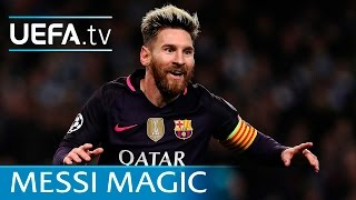 Lionel Messi: All 17 of his UEFA Champions League goals vs English clubs