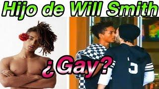 Captan al hijo de Will Smith ¡en plena cita con su novio!