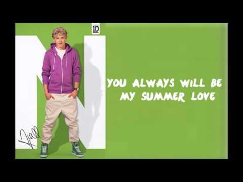 One Direction - Summer Love (lyrics)