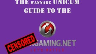 The Wannabe Unicum Guide to Wargaming 2017