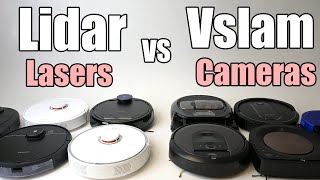 Lidar vs Vslam (cameras vs lasers) For Robot Vacuums - Which One is Best?