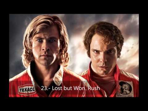 Soundtrack Rush. Hans Zimmer. 23. Lost but Won