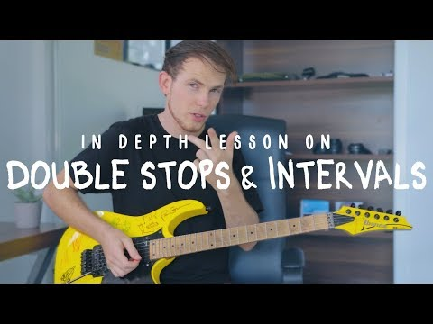 Using Double Stops & Intervals In Your LeadSolo Playing (Lesson)