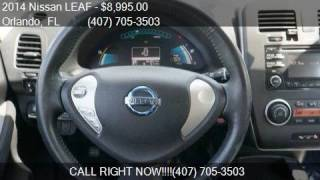 2014 Nissan LEAF 4dr Hatchback S for sale in Orlando, FL 328