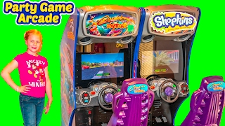 ARCADE GAMES Assistant Favorite Arcade and Season 7 Shopkins Arcade Game Party Toys