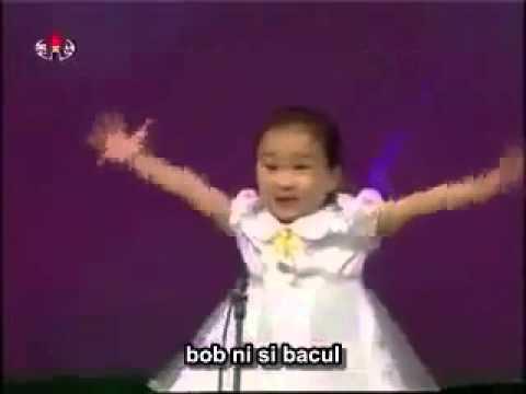 Comel Gila Budak Korea nyanyi lagu melayu