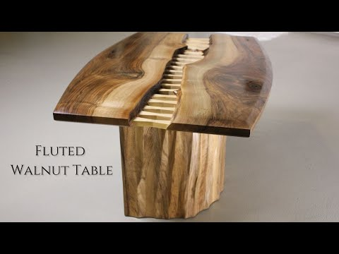Xxx Mp4 Quot Stitched Quot Coffee Table Making Walnut Coffee Table W Fluted Base 3gp Sex