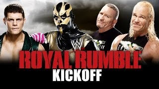 Royal Rumble 2014 Kickoff - Cody Rhodes & Goldust vs. The New Age Outlaws