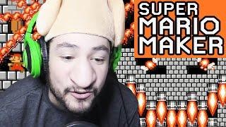 HIDDEN BLOCK FIRE PUZZLE - SUPER MARIO MAKER