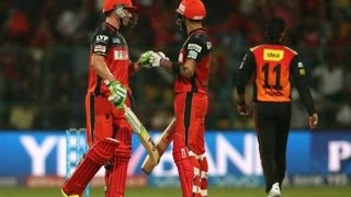 Royal Challengers Bangalore v Sunrisers Hyderabad match highlights IPL 2016 - RCB VS SRH