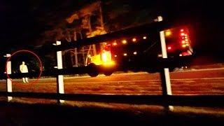 mannequin vs phantom truck (clinton road) REALLY BAD IDEA WE GOT CHASED