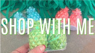 *LIVE* FAMILY DOLLAR SHOP WITH ME | NEW PINEAPPLE SUMMER DECOR