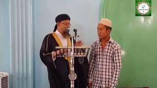 ইসলাম ধর্ম গ্রহন করল মিন্টু চাকমা |