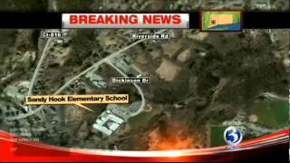 School Shooting Sandy Elementary in Newtown Connecticut - School Shooting Breaking News (EXCLUSIVE)