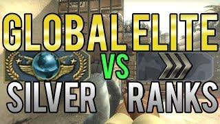 CS:GO - Global Elite vs Silver Ranks