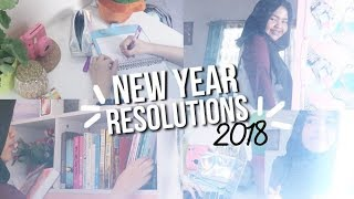 NEW YEAR RESOLUTIONS FOR 2018 + GIVEAWAY! - Cantika Putri