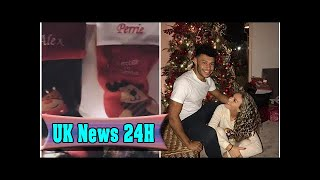 Perrie edwards and alex oxlade-chamberlain share first christmas together| UK News 24H