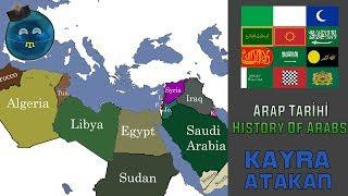 Arap Tarihi (-1200-2018) History Of Arabs
