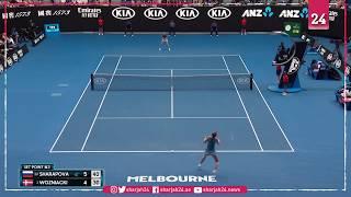 فوزنياكي تودع بطولة أستراليا المفتوحة للتنس