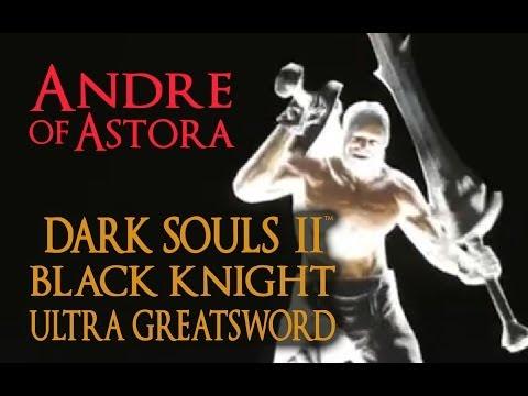 Dark Souls 2 Black Knight Ultra Greatsword Tutorial (dual wielding w/ power stance)