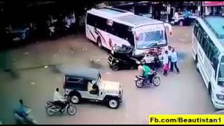 Road Accidents in India caught by live CCTV | Must Watch | 2016